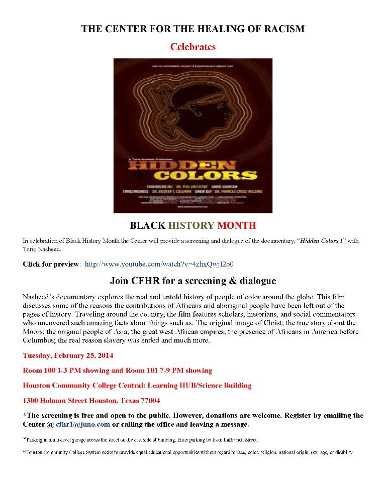 Black history flier 2