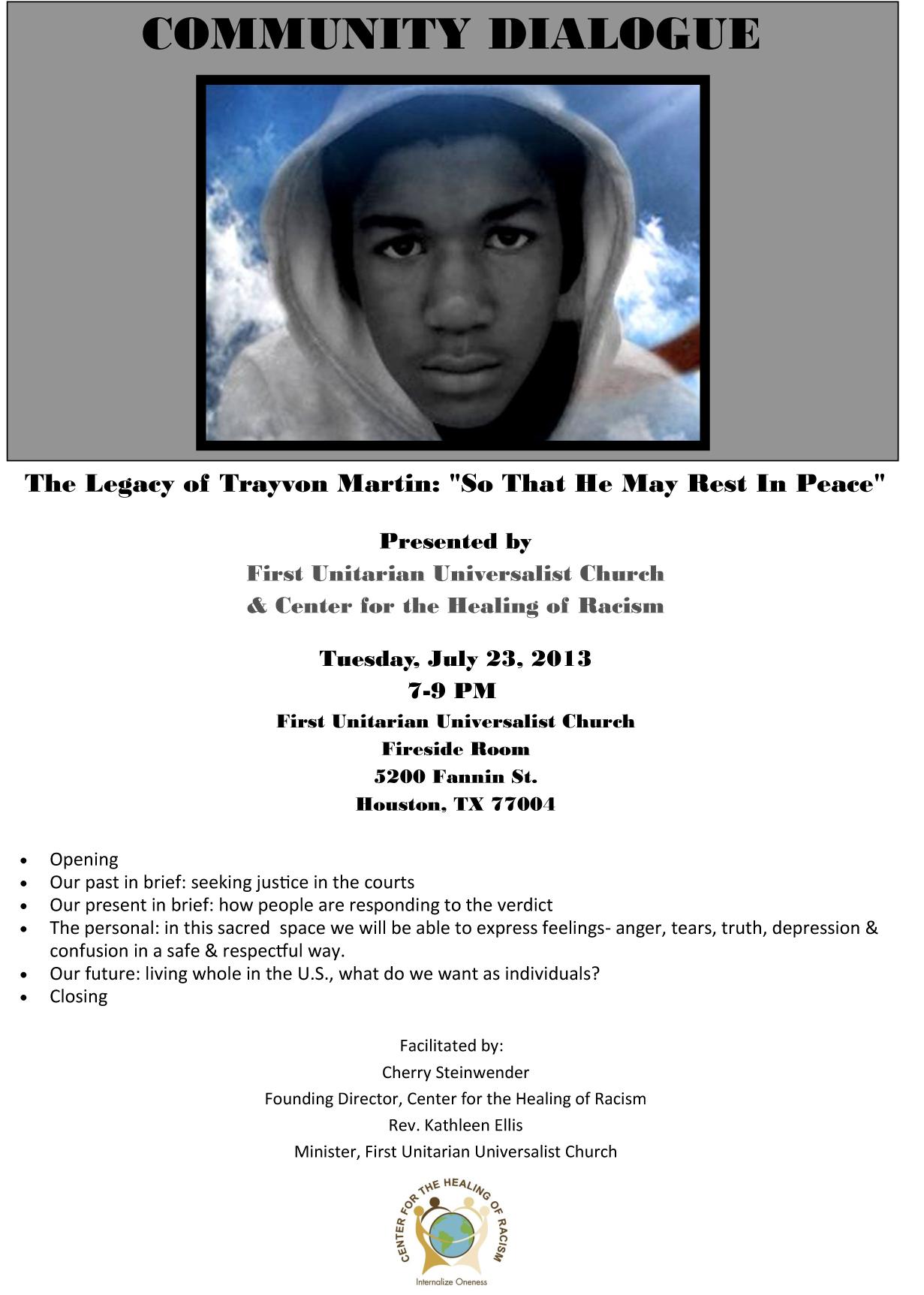 The Legacy of Trayvon Martin:
